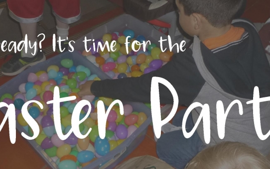 Easter Monday is Easter Party