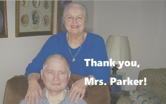 Farewell to Theresa Parker
