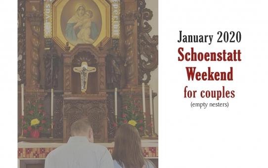 Schoenstatt Weekend for Couples