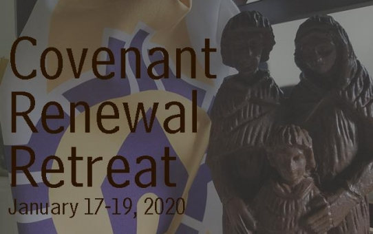 Covenant Renewal Retreat for Couples, January 17 - 19, 2020