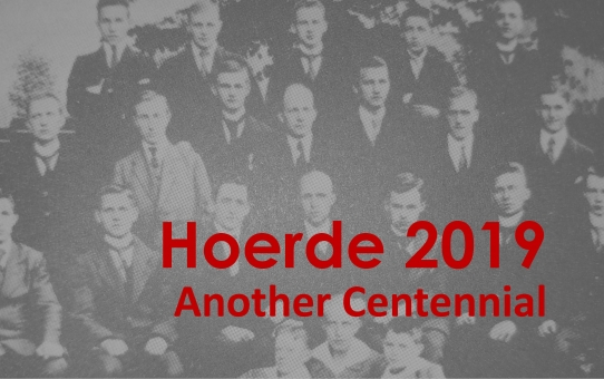 August 20, 2019 - Centennial of the Hoerde Conference