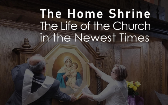 The Home Shrine                     The Life of the Church in the Newest Times