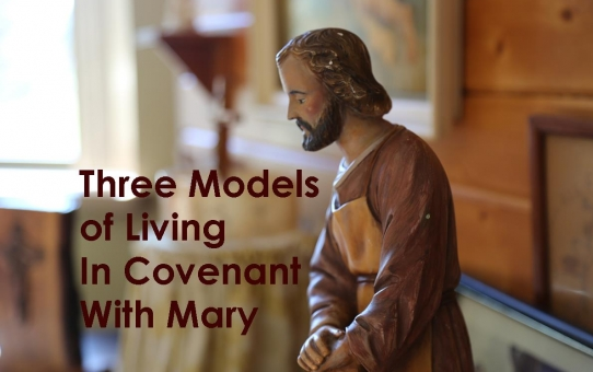 Three Models of Living In Covenant with Mary