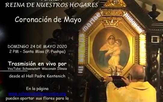 Coronación Mayo 2020